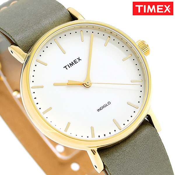 タイメックス ウィークエンダー フェアフィールド 37mm TW2P98500 TIMEX 腕時計 クリーム 時計