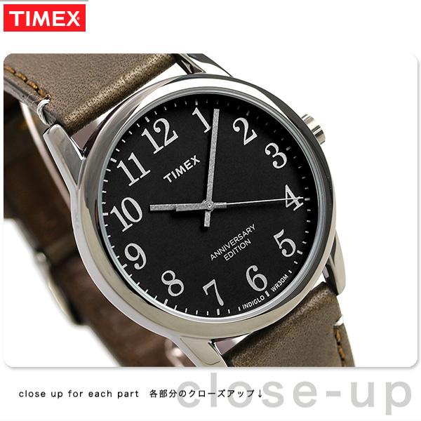 タイメックス イージーリーダー 40周年 記念モデル 38mm TW2R35800 TIMEX 腕時計 革ベルト 時計【あす楽対応】
