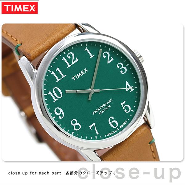 タイメックス イージーリーダー 40周年 記念モデル 38mm TW2R35900 TIMEX 腕時計 革ベルト 時計【あす楽対応】