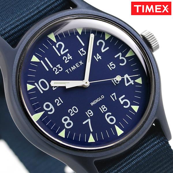 タイメックス MK1 アルミニウム 40mm メンズ 腕時計 TW2R37300 TIMEX ネイビー 時計【あす楽対応】