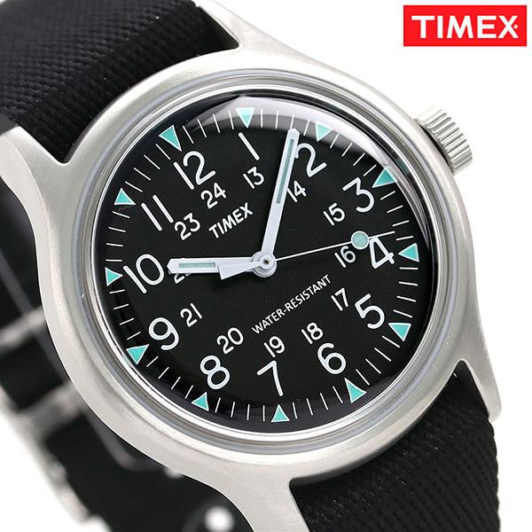 タイメックス SS キャンパー 36mm ブラック TW2R58300 TIMEX ユニセックス 腕時計 時計