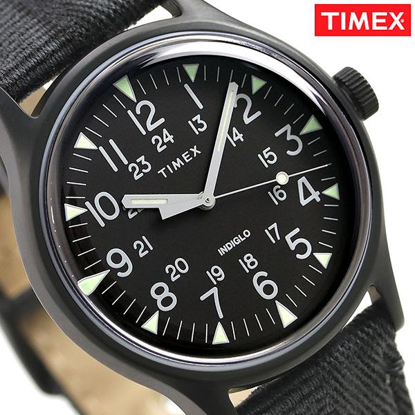 タイメックス MK1 スチール 40mm クオーツ メンズ 腕時計 TW2R68200 TIMEX オールブラック 時計