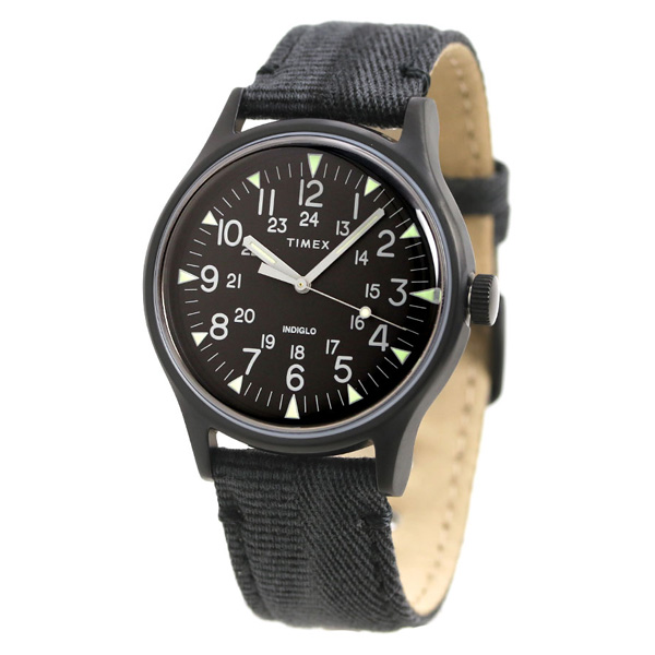 2d060313a ... Timex MK1 steel 40mm quartz men watch TW2R68200 TIMEX oar black clock  ...