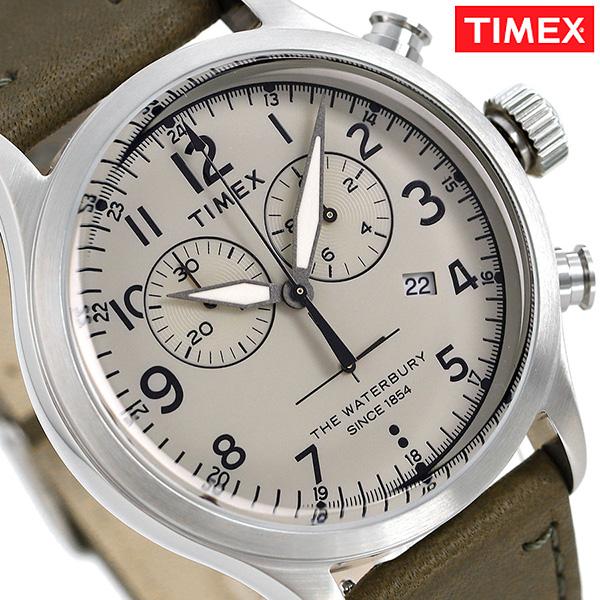 タイメックス ウォ-ターベリー レッドウイング クロノグラフ TW2R70800 TIMEX 腕時計 革ベルト 時計【あす楽対応】