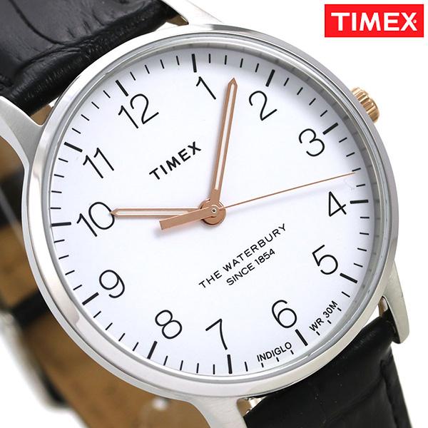 タイメックス ウォ-ターベリー クラシック 40mm 革ベルト TW2R71300 TIMEX メンズ 腕時計 時計【あす楽対応】