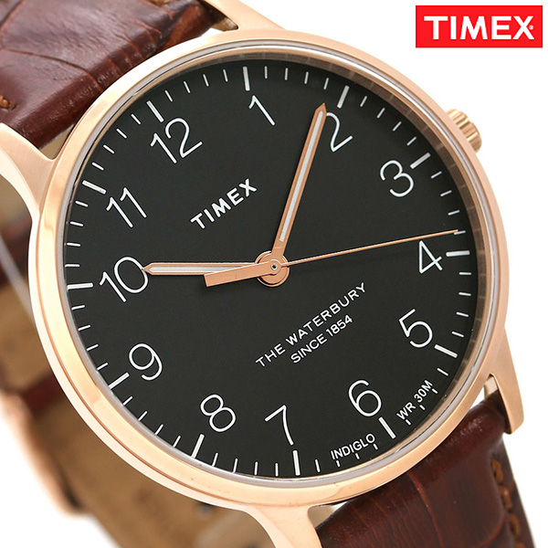 タイメックス ウォ-ターベリー クラシック 40mm 革ベルト TW2R71400 TIMEX メンズ 腕時計 時計【あす楽対応】