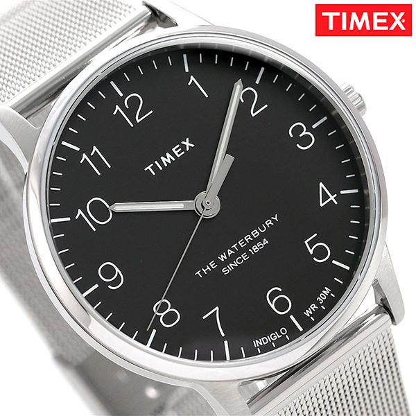 タイメックス ウォ-ターベリー クラシック 40mm ブラック TW2R71500 TIMEX メンズ 腕時計 時計【あす楽対応】