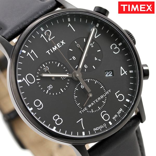 タイメックス ウォ-ターベリー クラシック クロノグラフ TW2R71800 TIMEX メンズ 腕時計 革ベルト 時計【あす楽対応】