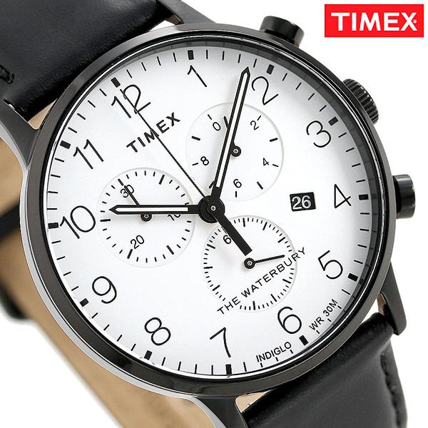 タイメックス ウォ-ターベリー クラシック クロノグラフ TW2R72300 TIMEX メンズ 腕時計 革ベルト 時計【あす楽対応】