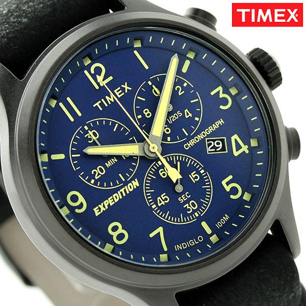 Timex expedition talent scout men watch TW4B04200 TIMEX blue X black