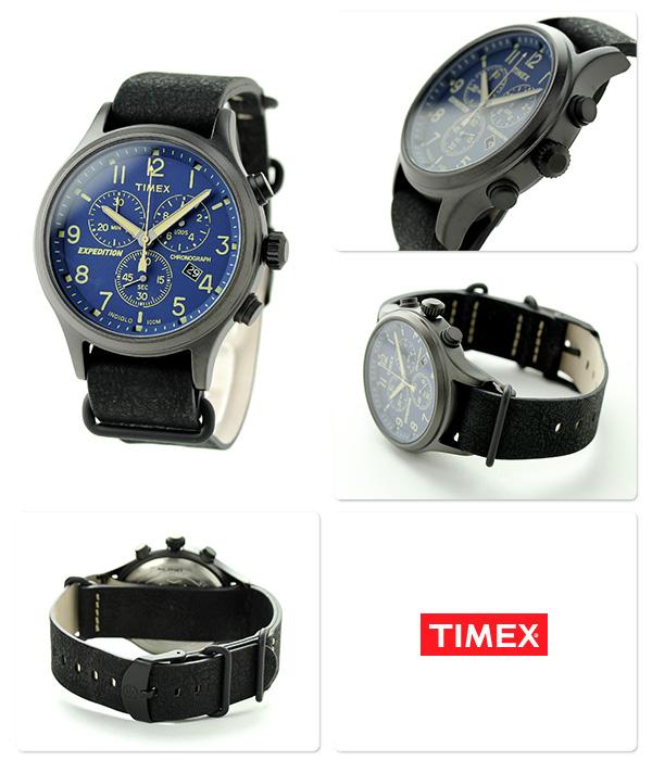 Timex遠征選拔人手錶TW4B04200 TIMEX藍色×黑色