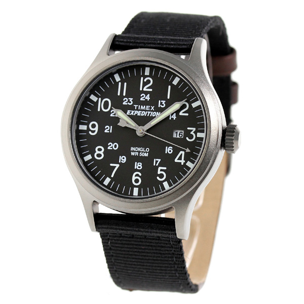 Timex expedition talent scout 40mm watch TW4B06900 TIMEX black X brown