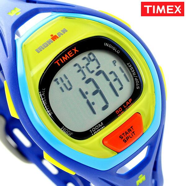 タイメックス アイアンマン スリーク 50ラップ メンズ TW5M01600 TIMEX 腕時計 ブルー 時計【あす楽対応】