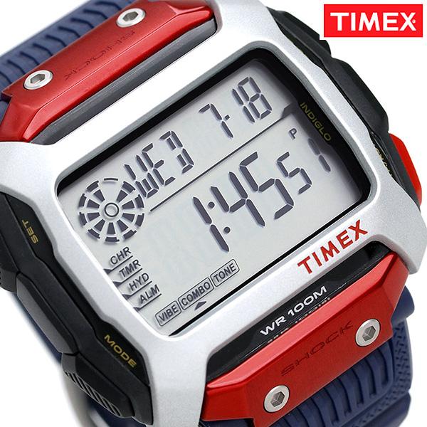 タイメックス コマンド レッドブル クリフダイビング 限定モデル TW5M20800 TIMEX 腕時計 ブルー 時計【あす楽対応】