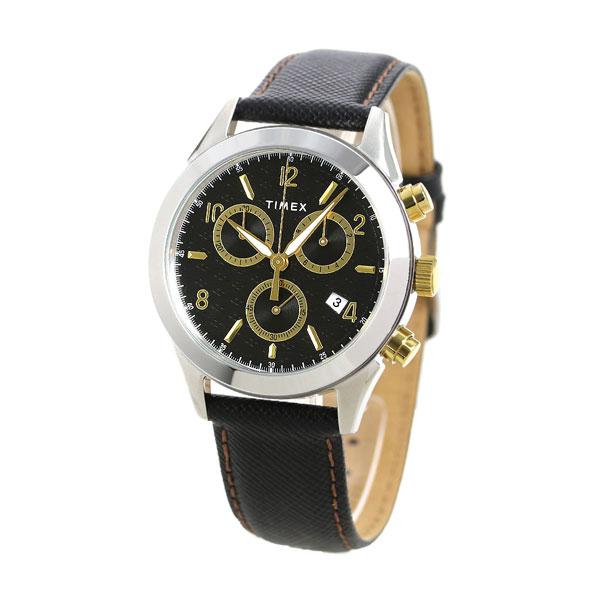 Watch Tw2r90700 Timex Men Chronograph Clock トリントンブラッ pjGLzMqSUV