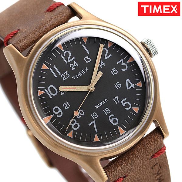 タイメックス MK1 スチール メンズ 腕時計 TW2R96700 TIMEX 時計 ブラック×ブラウン【あす楽対応】