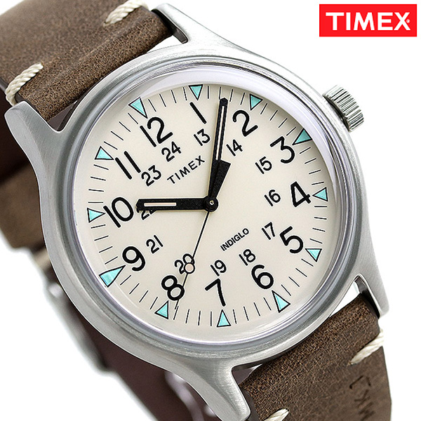 56f31a3e6 nanaple: Timex MK1 steel men watch TW2R96800 TIMEX clock cream X ...