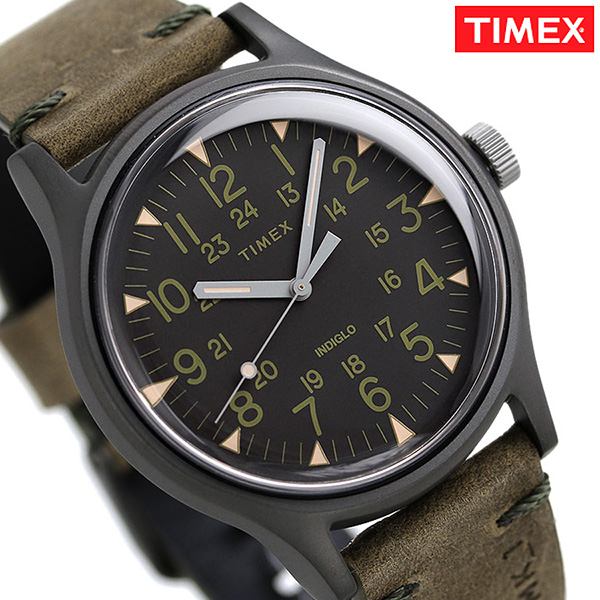 9e2dbd8df nanaple: Timex MK1 steel men watch TW2R97000 TIMEX clock black X ...