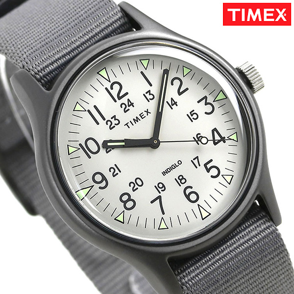 5db3d9584 nanaple: Timex MK1 aluminum men watch TW2T10500 TIMEX clock gray ...