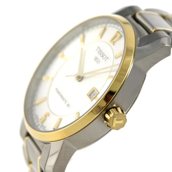 tiso T-古典钛自动40mm T087.407.55.037.00 TISSOT手表