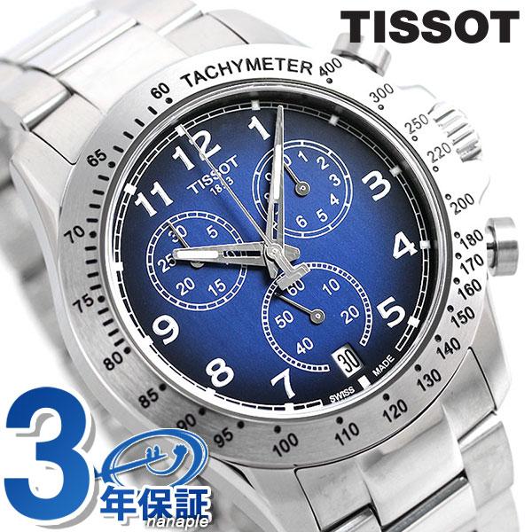TISSOT ティソ 腕時計 T-スポーツ V8 クロノグラフ メンズ T106.417.11.042.00 ブルー