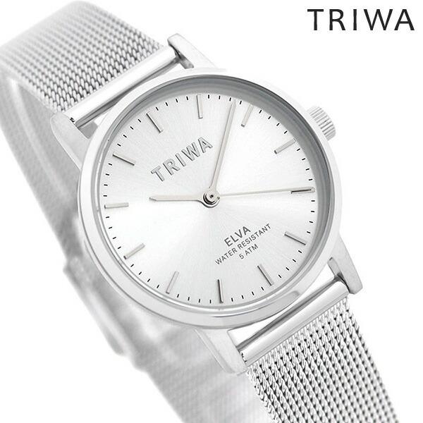 TRIWA トリワ 時計 レディース スターリング エルバ 28mm 腕時計 ELST105-EM021212 シルバー【あす楽対応】