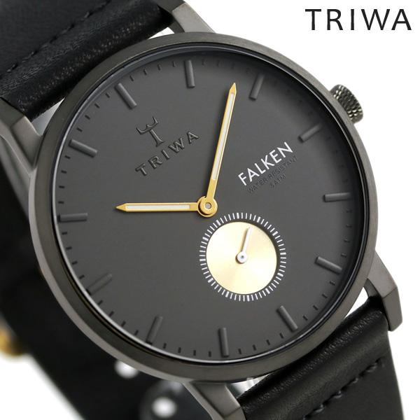トリワ TRIWA 時計 メンズ レディース 北欧 スウェーデン スモールセコンド 38mm FAST102-CL010113 ファルケン 革ベルト 腕時計【あす楽対応】