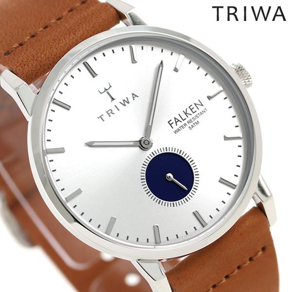 トリワ TRIWA 時計 メンズ レディース 北欧 スウェーデン スモールセコンド 38mm FAST111-CL010212 ファルケン 革ベルト 腕時計【あす楽対応】