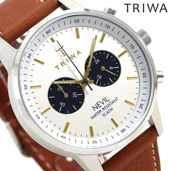 TRIWA トリワ 時計 スウェーデン 北欧 クロノグラフ 42mm ユニセックス 腕時計 ネビル NEST116-TS010212【あす楽対応】