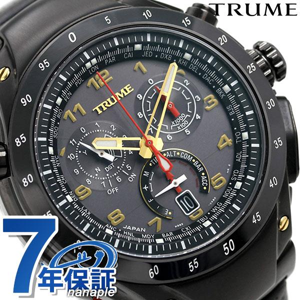 【10日はさらに+4倍で店内ポイント最大53倍】 エプソン トゥルーム チタン 限定モデル Bluetooth 歩数計 日本製 GPS電波ソーラー TR-MB8006 TRUME 腕時計 Lコレクション 時計