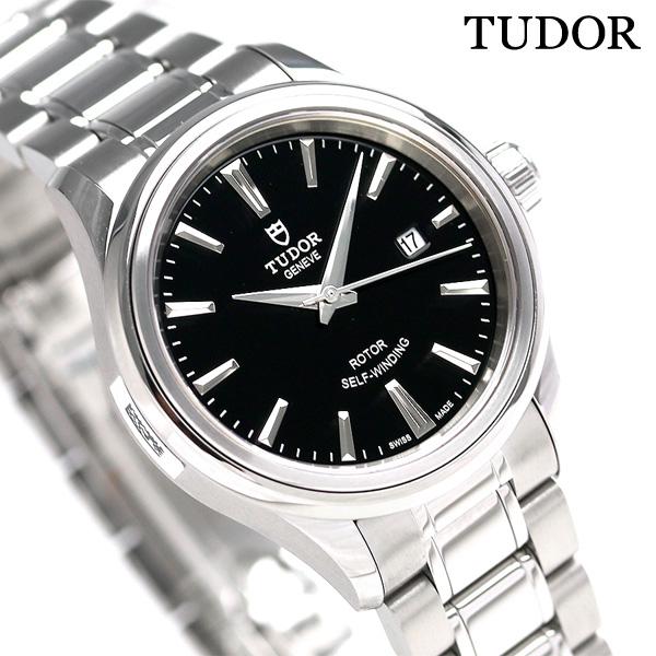 TUDOR チュードル スタイル 28MM レディース 時計 12100 ブラック 腕時計