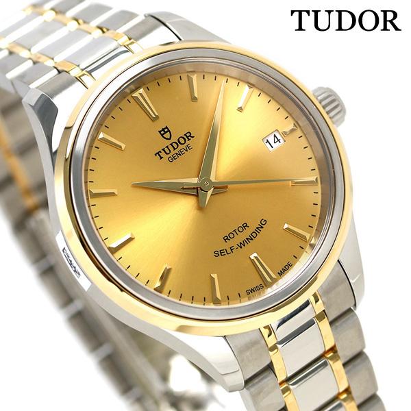 TUDOR チュードル スタイル 34MM レディース 時計 12303 ゴールド 腕時計