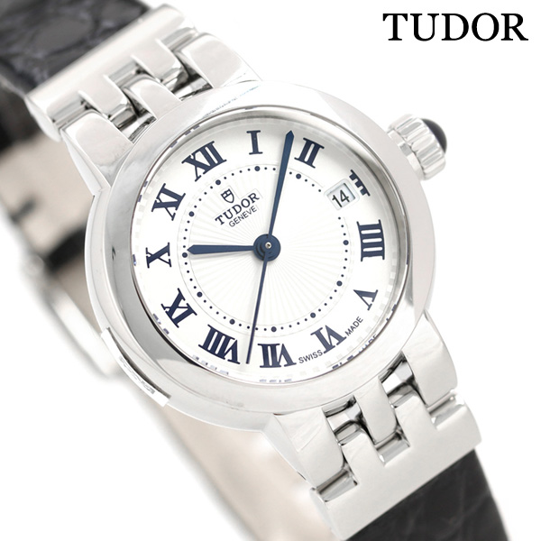 チュードル TUDOR クレア ド ローズ 26mm 革ベルト スイス製 35200 レディース 腕時計 時計