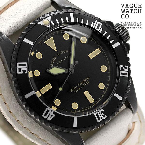 ヴァーグウォッチ ブラック サブ 40mm メンズ 腕時計 BS-L-CB003 VAGUE WATCH Co. 時計
