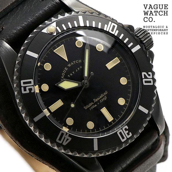ヴァーグウォッチ ブラック サブ 40mm メンズ 腕時計 BS-L-HB001 VAGUE WATCH Co. 時計