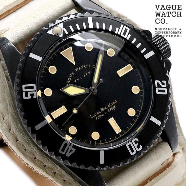 ヴァーグウォッチ ブラック サブ 40mm メンズ 腕時計 BS-L-HB003 VAGUE WATCH Co. 時計