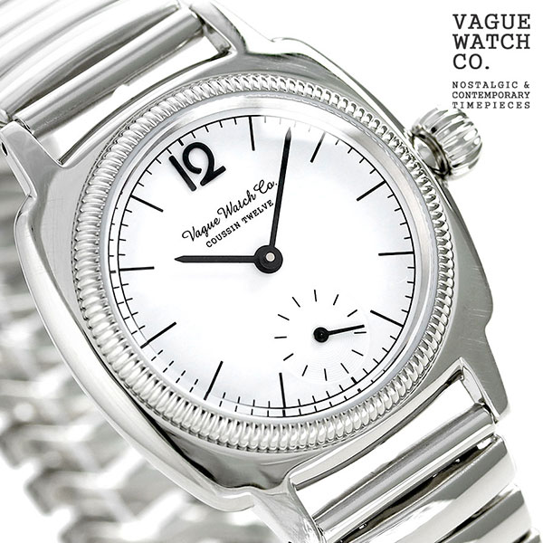 ヴァーグウォッチ クッサン トゥエルブ メンズ 腕時計 CO-L-012-SSSE シルバー VAGUE WATCH Co. 時計
