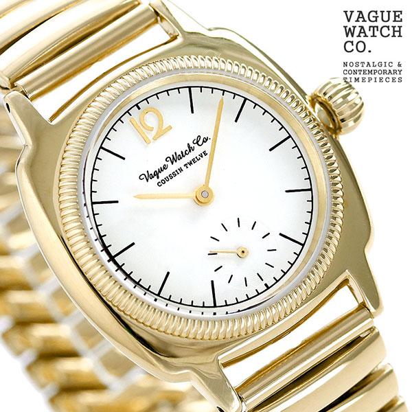 ヴァーグウォッチ クッサン トゥエルブ メンズ 腕時計 CO-L-012-YGSE ゴールド VAGUE WATCH Co. 時計