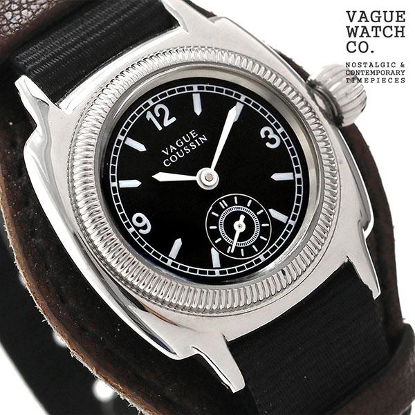 ヴァーグウォッチ クッサン ミル 28mm レディース 腕時計 CO-S-007-05BK VAGUE WATCH Co. 時計