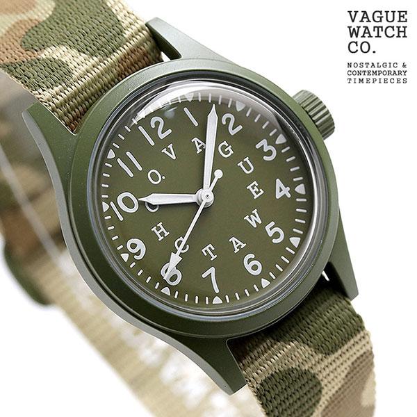 ヴァーグウォッチ ガン ダウブ 33mm メンズ 腕時計 GD-L-001 VAGUE WATCH Co. 時計