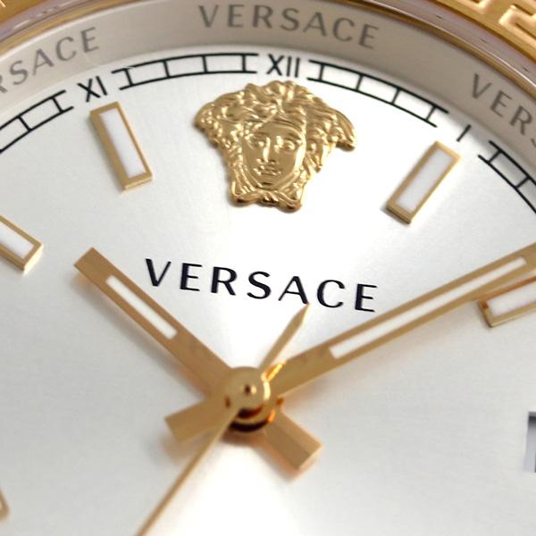 verusachihereniumukuotsusuisu製造女士V12030015 VERSACE手錶銀子×粉紅黄金新貨
