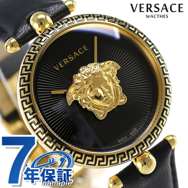 3d9294be3c Versace clock Lady's VERSACE watch palazzo empire 39mm VCO020017 black ...