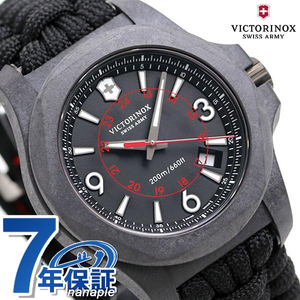ビクトリノックス 時計 イノックス メンズ 腕時計 241776 VICTORINOX I.N.O.X. オールブラック【あす楽対応】