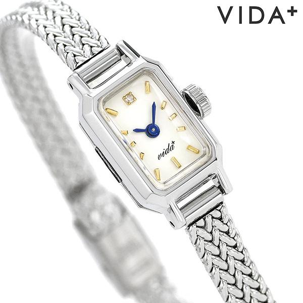 ヴィーダプラス レディース 腕時計 日本製 ダイヤモンド ジュエリー J84967SM VIDA+ キャスケット 時計