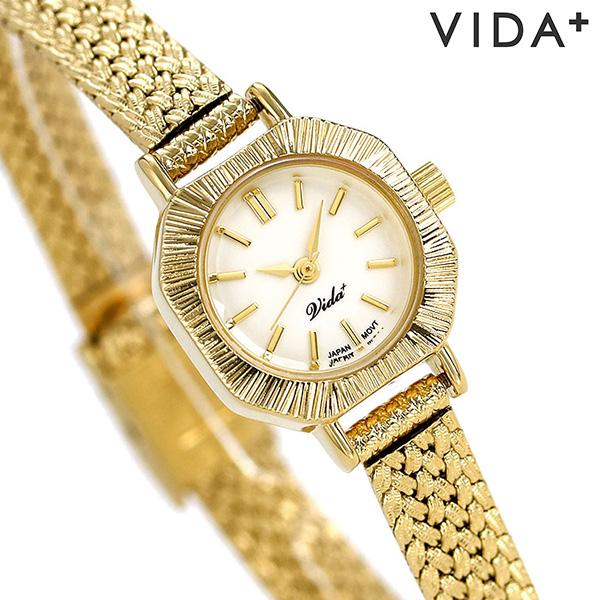 ヴィーダプラス レディース 腕時計 日本製 アクセサリー アンティーク V-004GM VIDA+ キュリアス 時計【あす楽対応】