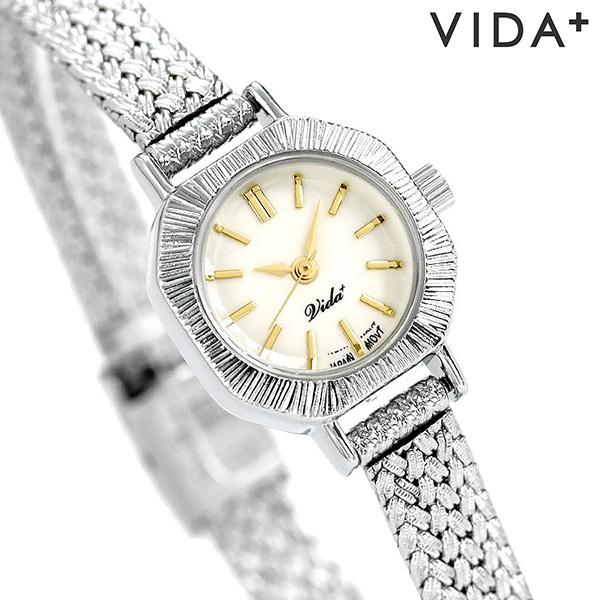 ヴィーダプラス レディース 腕時計 日本製 アクセサリー アンティーク V-004SM VIDA+ キュリアス 時計【あす楽対応】
