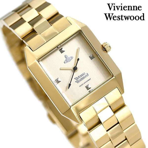 店内ポイント最大43倍!16日1時59分まで! ヴィヴィアン ウエストウッド 時計 レディース VV143GDGD Vivienne Westwood 腕時計 ゴールド【あす楽対応】