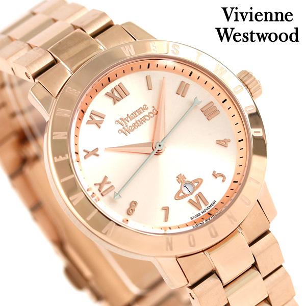 ヴィヴィアン 時計 レディース ブルームズベリー 34mm VV152RSRS Vivienne Westwood シルバー 腕時計【あす楽対応】