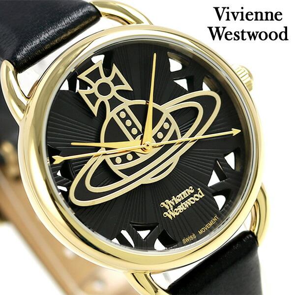 店内ポイント最大43倍!16日1時59分まで! ヴィヴィアン・ウエストウッド リーデンホール レディース VV163BKBK 腕時計 Vivienne Westwood 時計【あす楽対応】