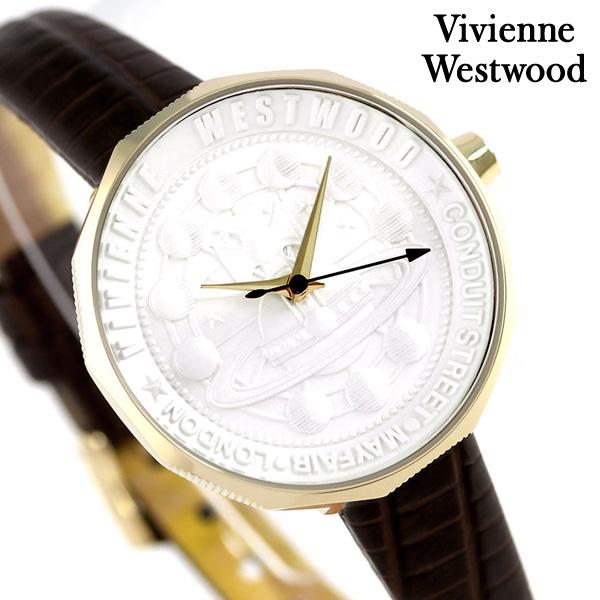 ヴィヴィアン 時計 レディース エッジウェア 32mm VV171GDBR Vivienne Westwood シルバー 腕時計